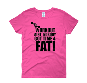 """Image of """"Workout"""" Tee PINK"""