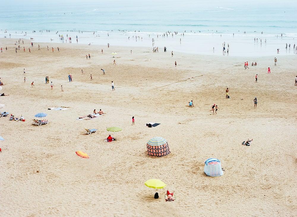 Image of Moroccan beach scene horizontal
