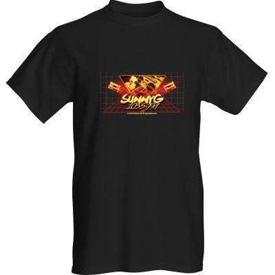 Image of Sunny G Black & Orange T-Shirt