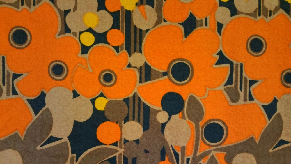 Image of Heal's 'Florabunda' vintage fabric
