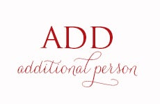 Image of Add Additional Person