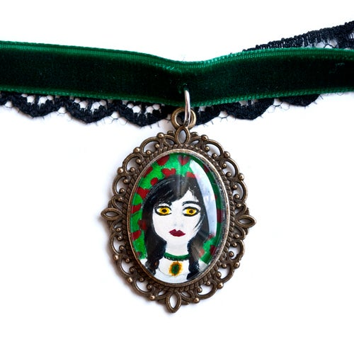 Image of Portrait Choker