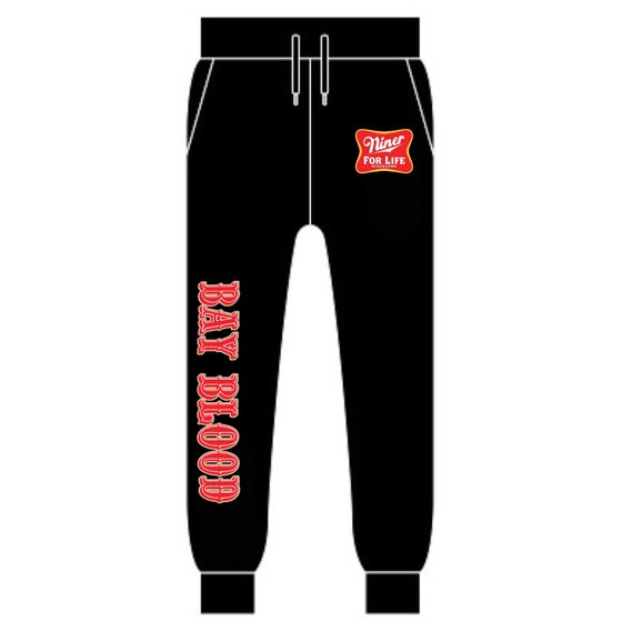 Image of Niner For Life Joggers (Black)