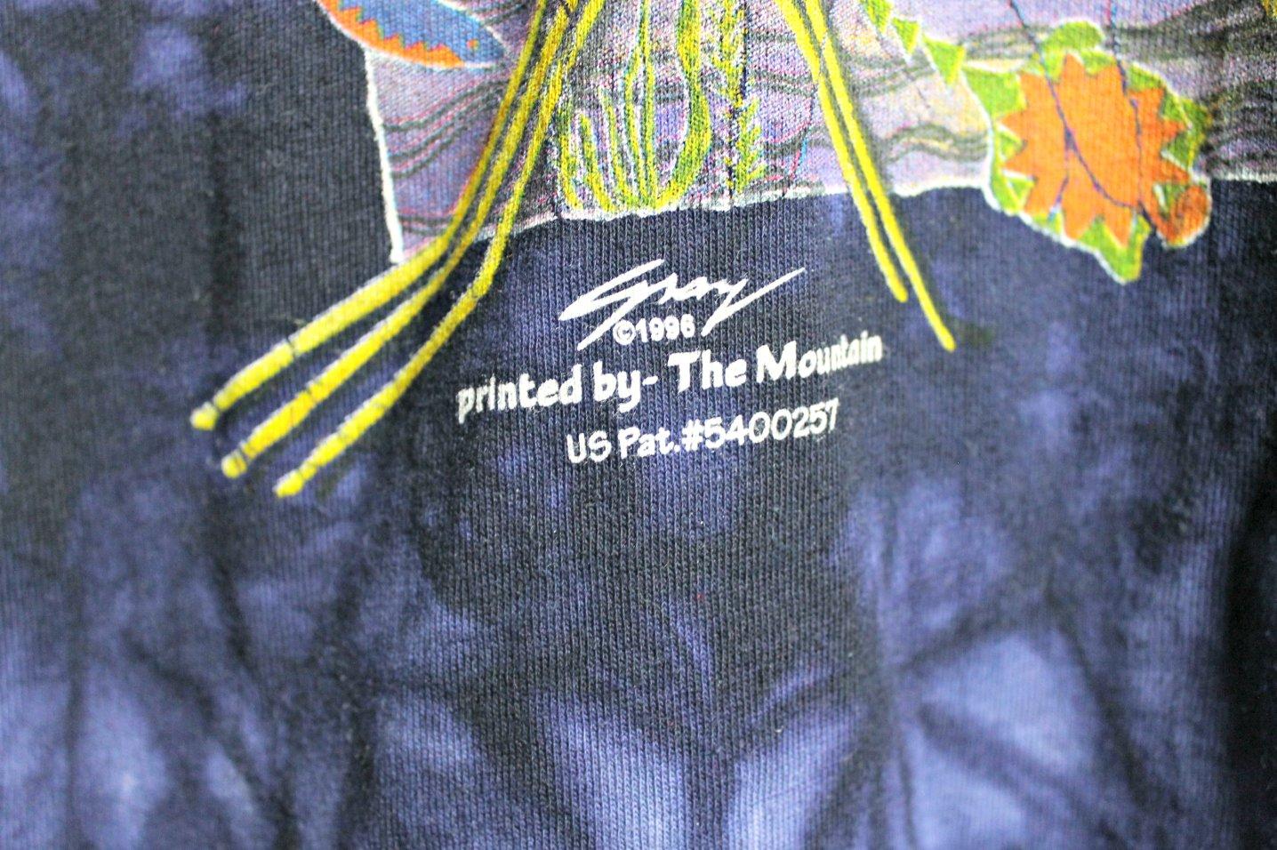 Image of 90's vintage native American tie dye T-shirt