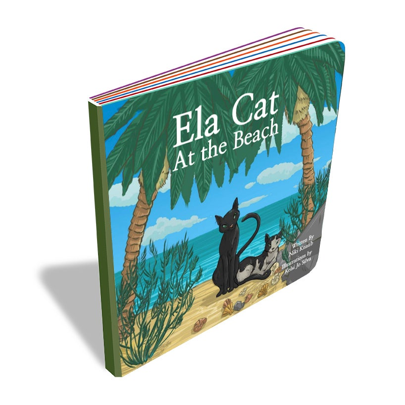 Image of Ela Cat at the Beach