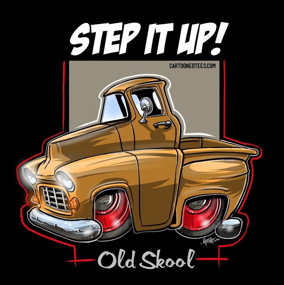 Image of 55 STEP IT UP GOLD