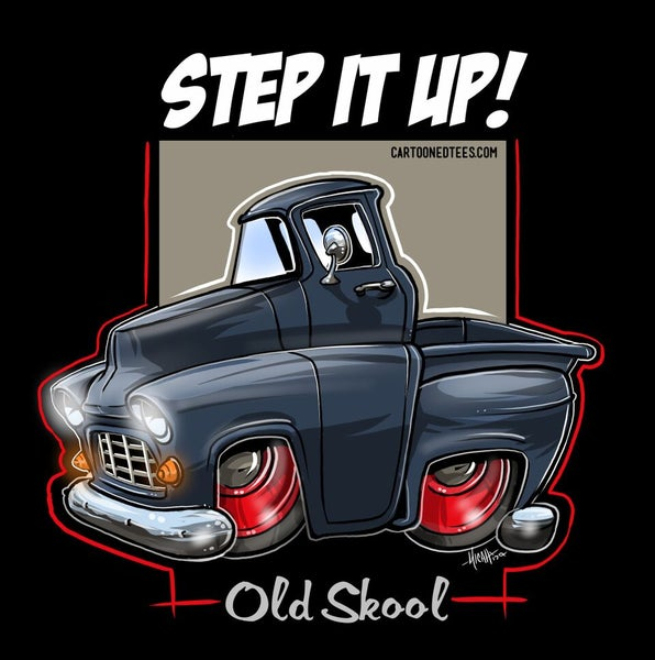 Image of '55 STEP IT UP DARK BLUE
