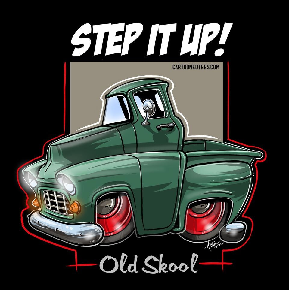 Image of '55 STEP IT UP GREEN