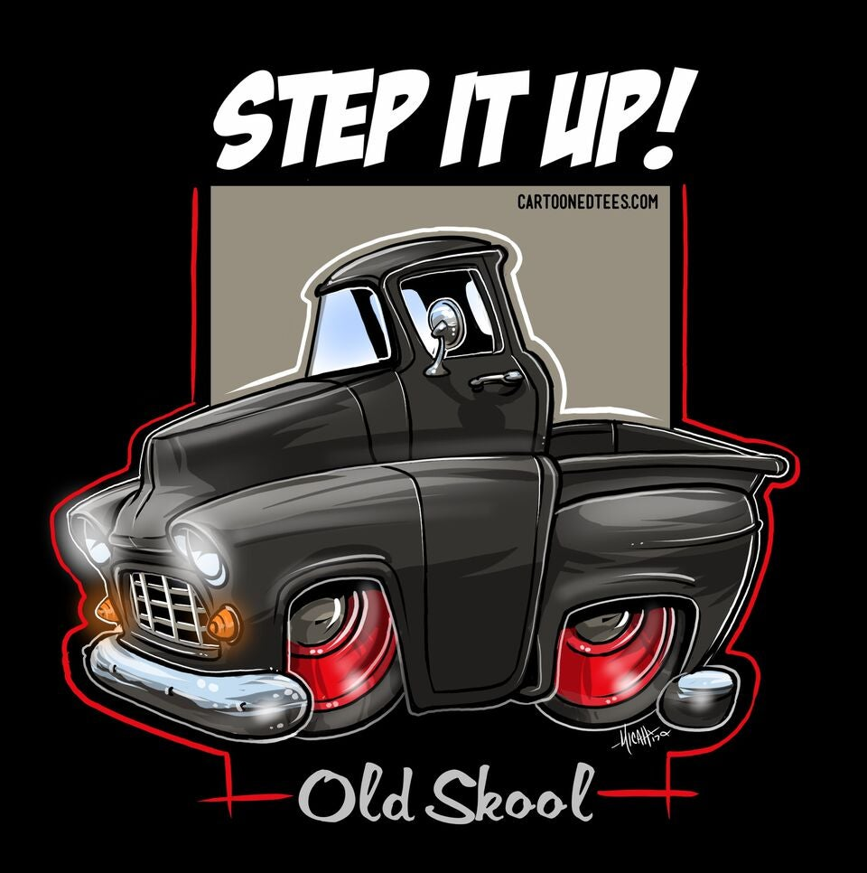 Image of '55 STEP IT UP BLACK