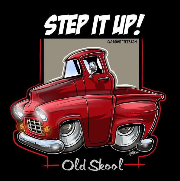 Image of '55 STEP IT UP RED