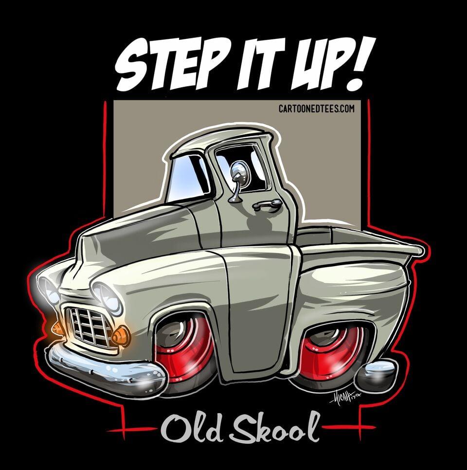 Image of 55 Step it up Vanilla