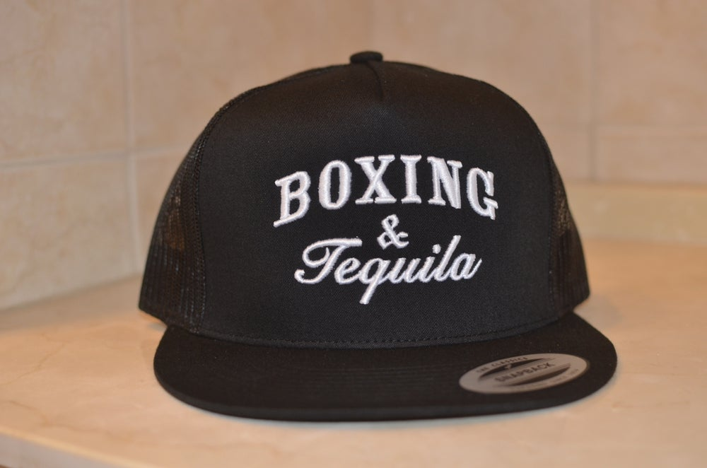 Image of Black Boxing & Tequila Trucker SnapBacks