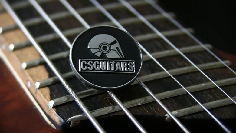 Image of CSGuitars Enamel Pin Badge