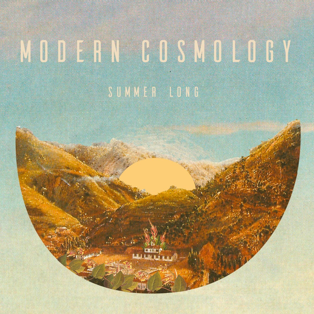 """Image of MODERN COSMOLOGY - Summer Long (Maxi-single EP clear 12"""" with MP3s)"""