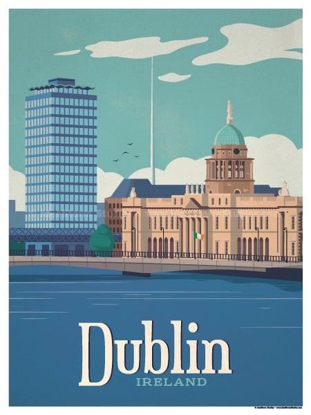 Image of Dublin Poster