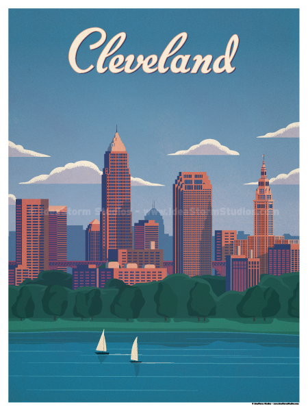 Image of Cleveland Poster