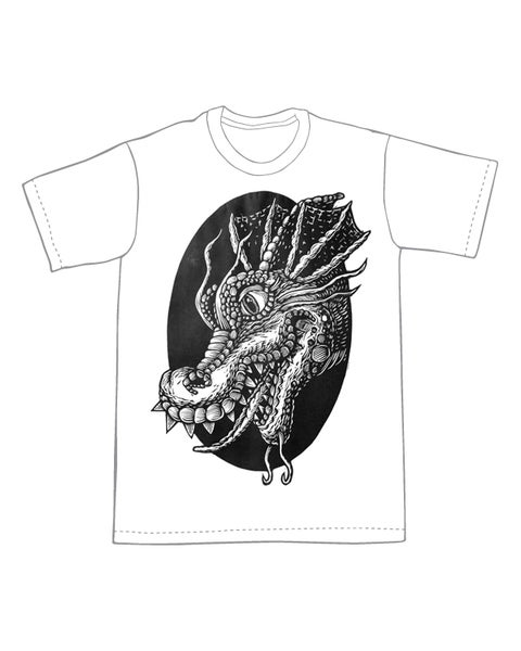 Image of Dragon Head T-shirt **FREE SHIPPING**