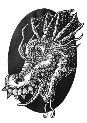 Image of Dragon Head T-shirt **FREE SHIPPING**