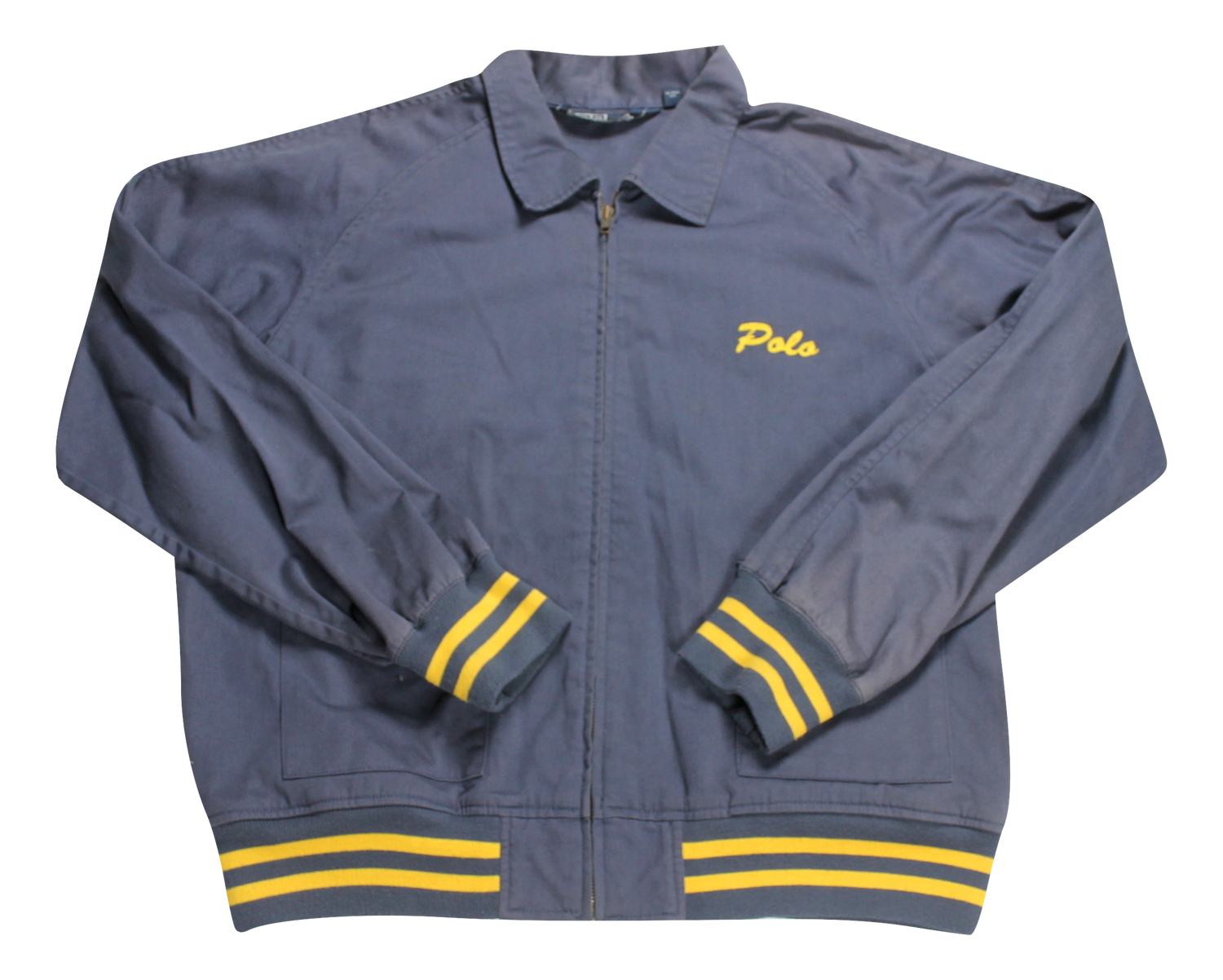 Image of Ralph Lauren Navy canvas Jacket
