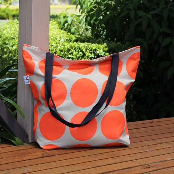 Image of Orange Spot Tote Bag