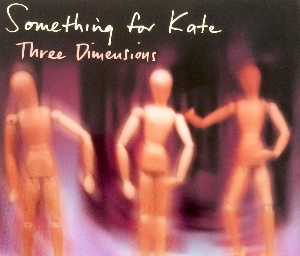 Image of Something for Kate -'Three Dimensions' CD single Original