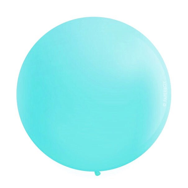 Image of Giant Round Balloons - Caribbean Blue