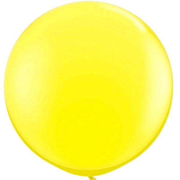 Image of Giant Round Balloons - Yellow