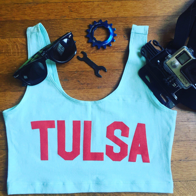 Image of Tulsa Crop Top Crew
