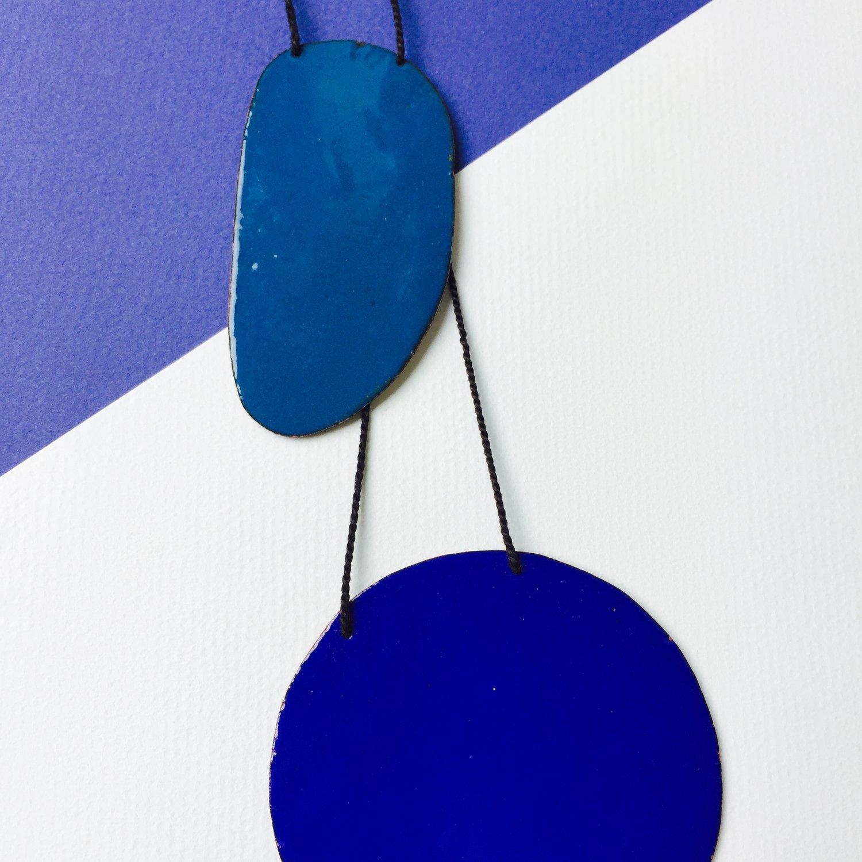 Image of Double Blues pendant