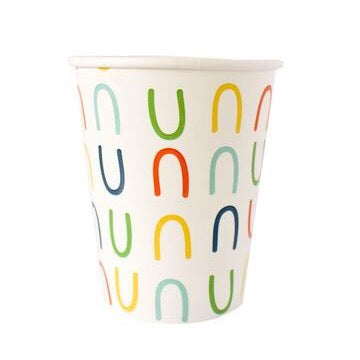 Image of Retro Rainbow Cups
