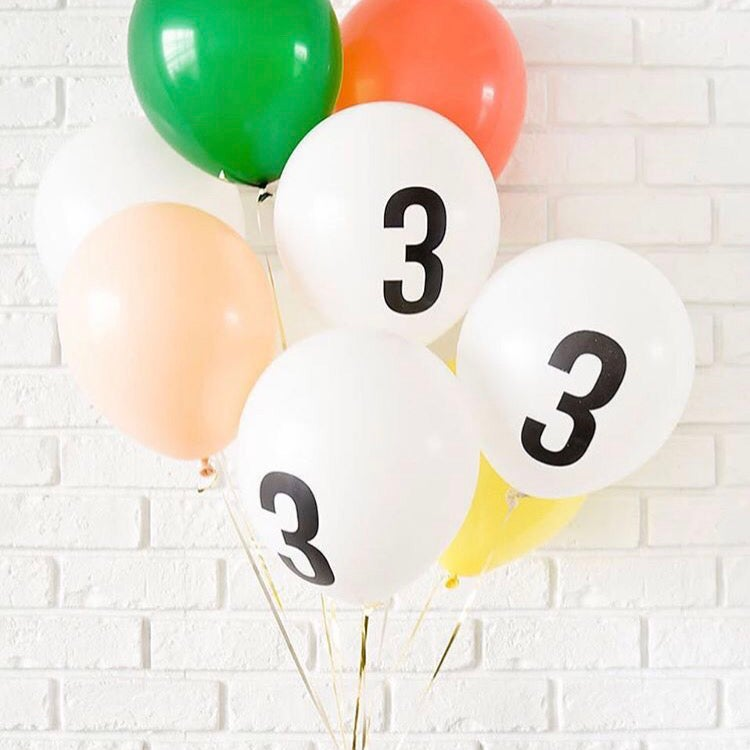 Image of Number Balloons