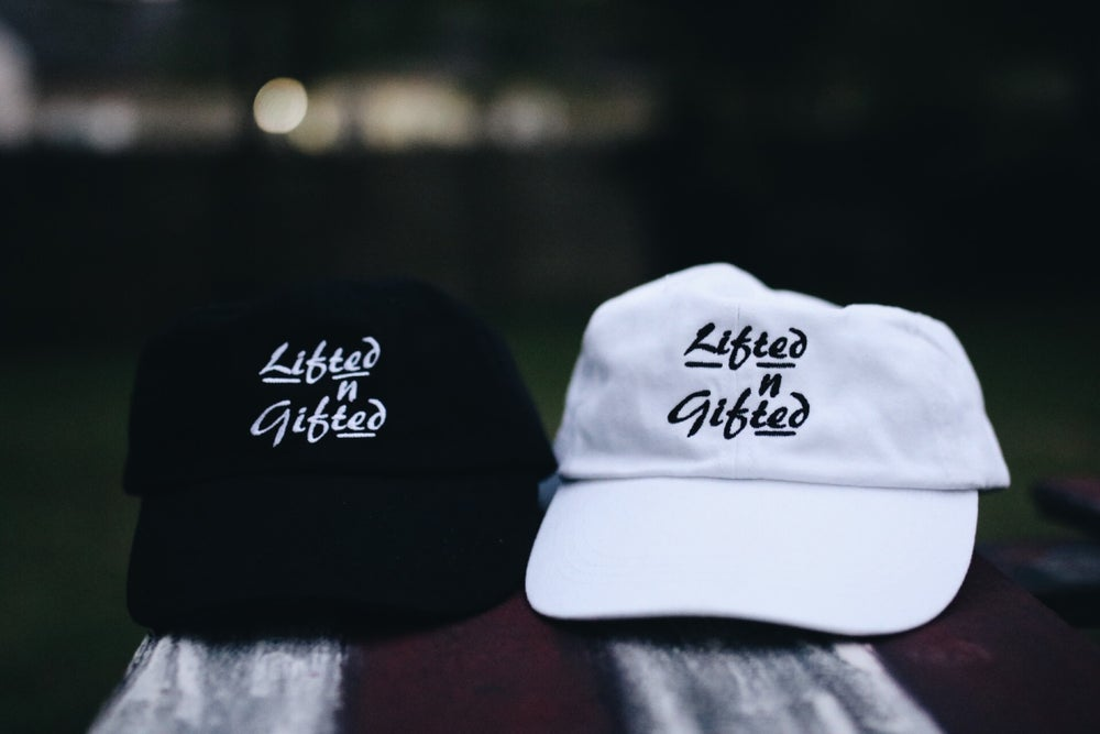 Image of OG Lifted n Gifted Dad Hats
