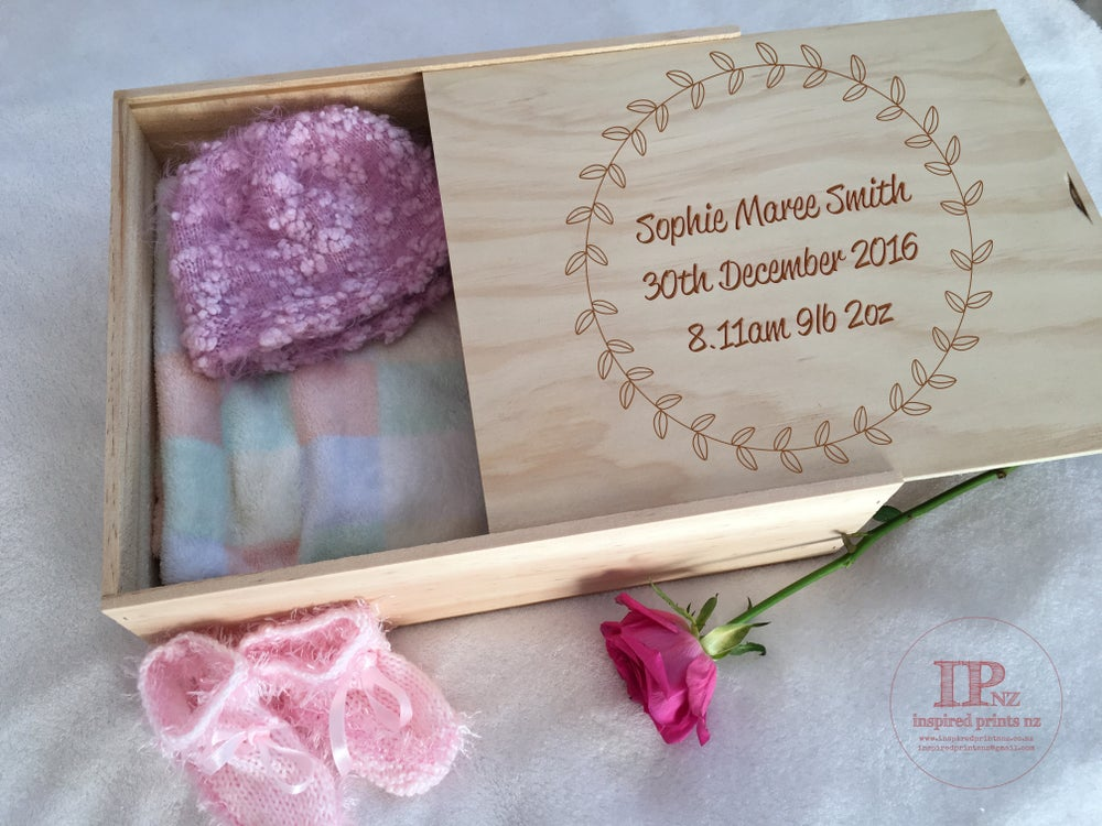 Image of Keepsake Box Sliding Lid