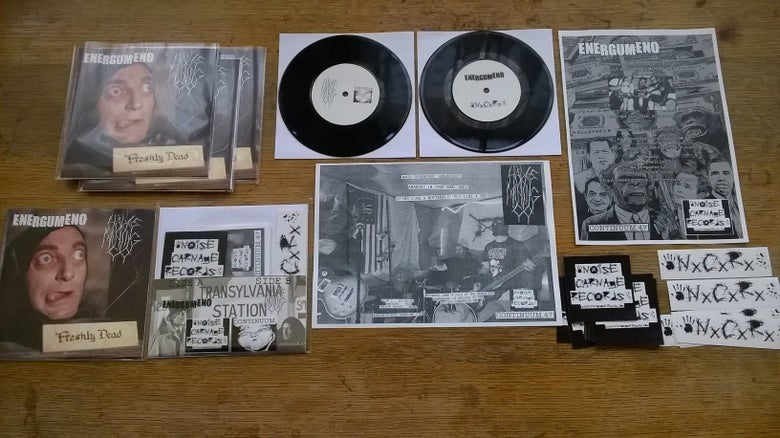 Image of C.47 Energumeno / Hades Mining Co split 7""