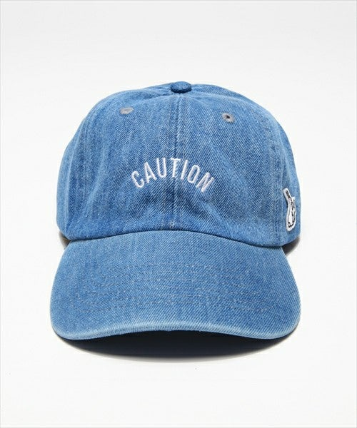 Image of Fxxking Rabbit FR2 - 6 Panel Caution (Denim)