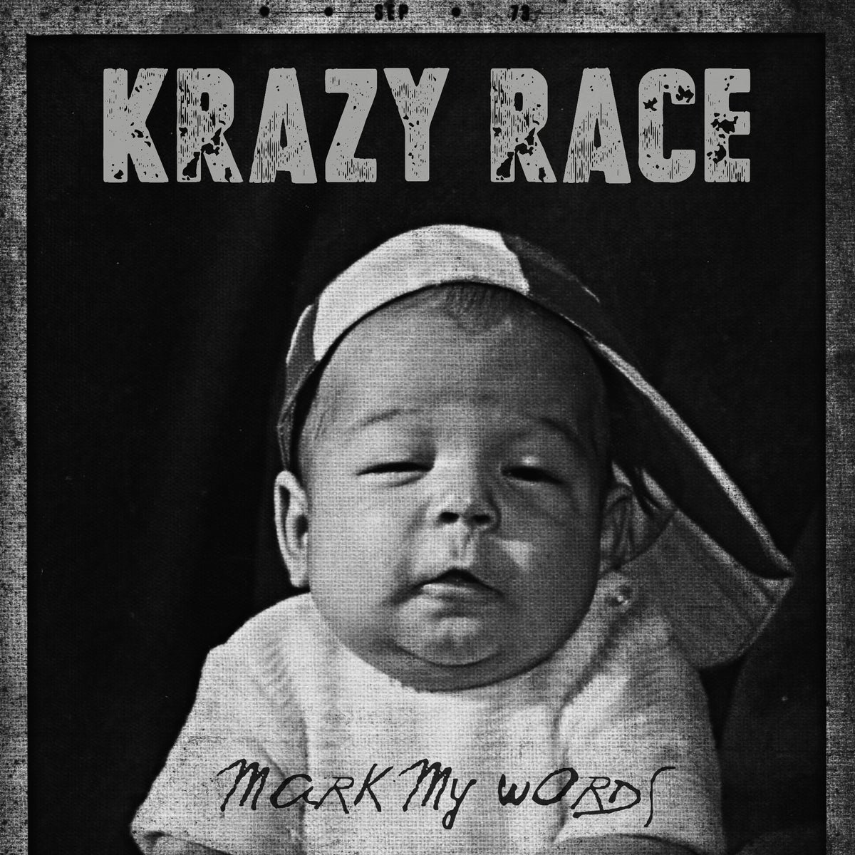 "Image of Krazy Race ""Mark My Words"" CD + Poster"