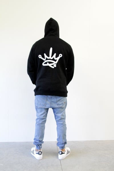 Image of ADULT HOODIE - BLACK