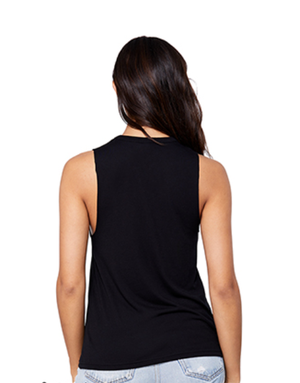 Image of Peace Is Always in-style: cut-neck tank