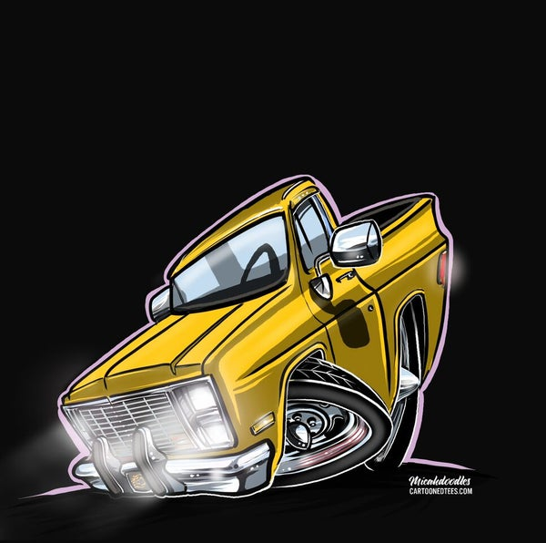 Image of Screamin' Yellow Squarebody