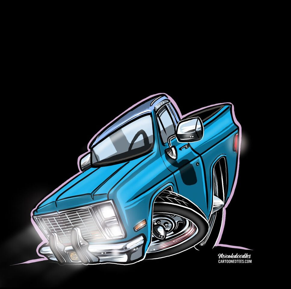 Image of Brilliant Blue Squarebody