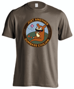Image of 'Just another Dumbass Civilian' Bear T-Shirt