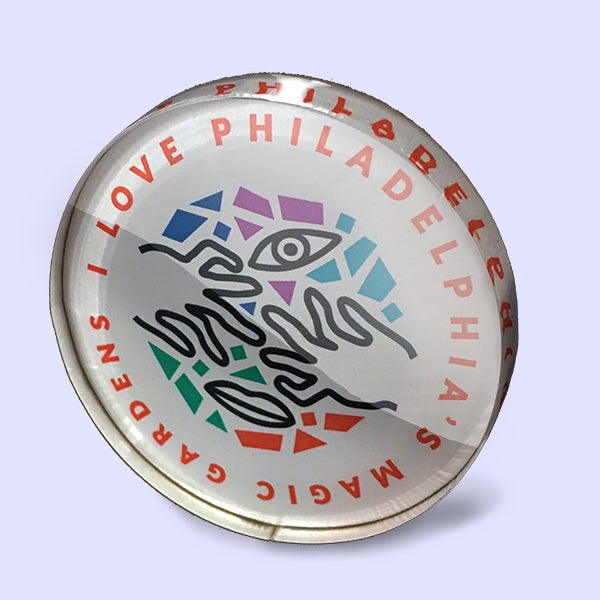 Image of I Love PMG Acrylic Magnet