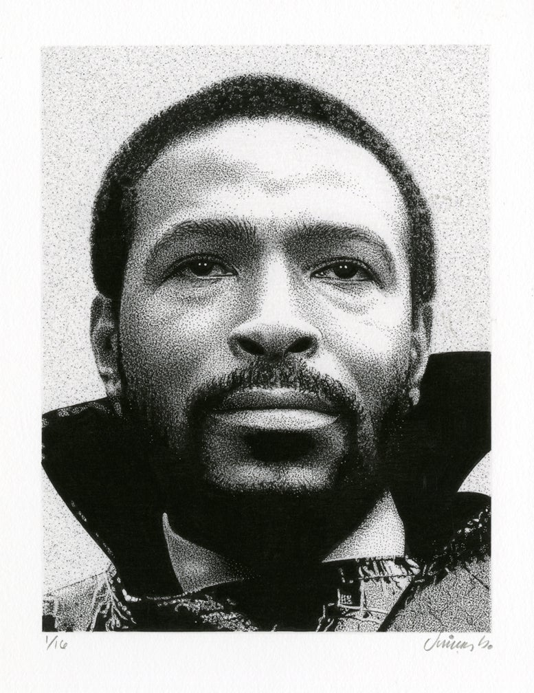 Image of MARVIN GAYE giclée print