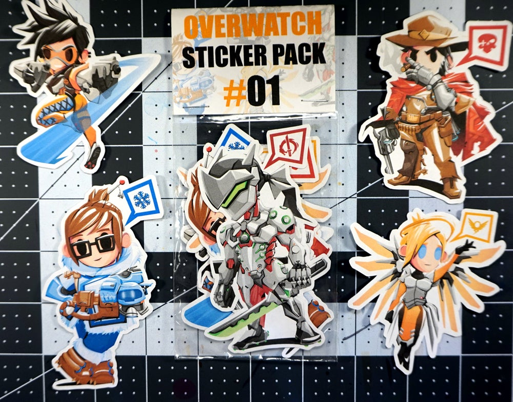 Image of Sticker Packs Wave 01