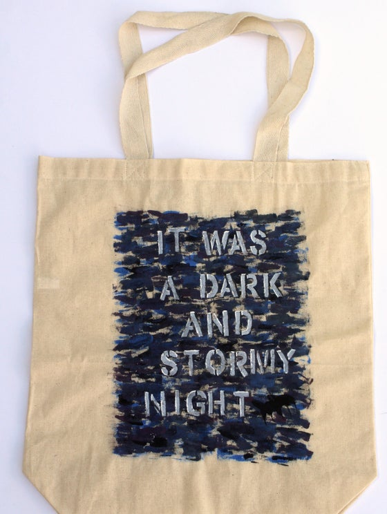 Image of Dark and Stormy Book Bag