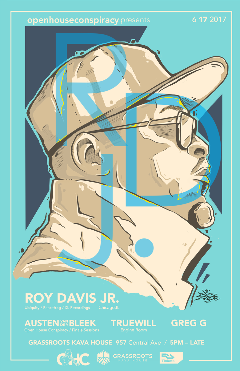 Image of Roy Davis Jr. Ticket