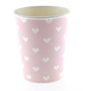 Image of Pink Sweetheart Cups