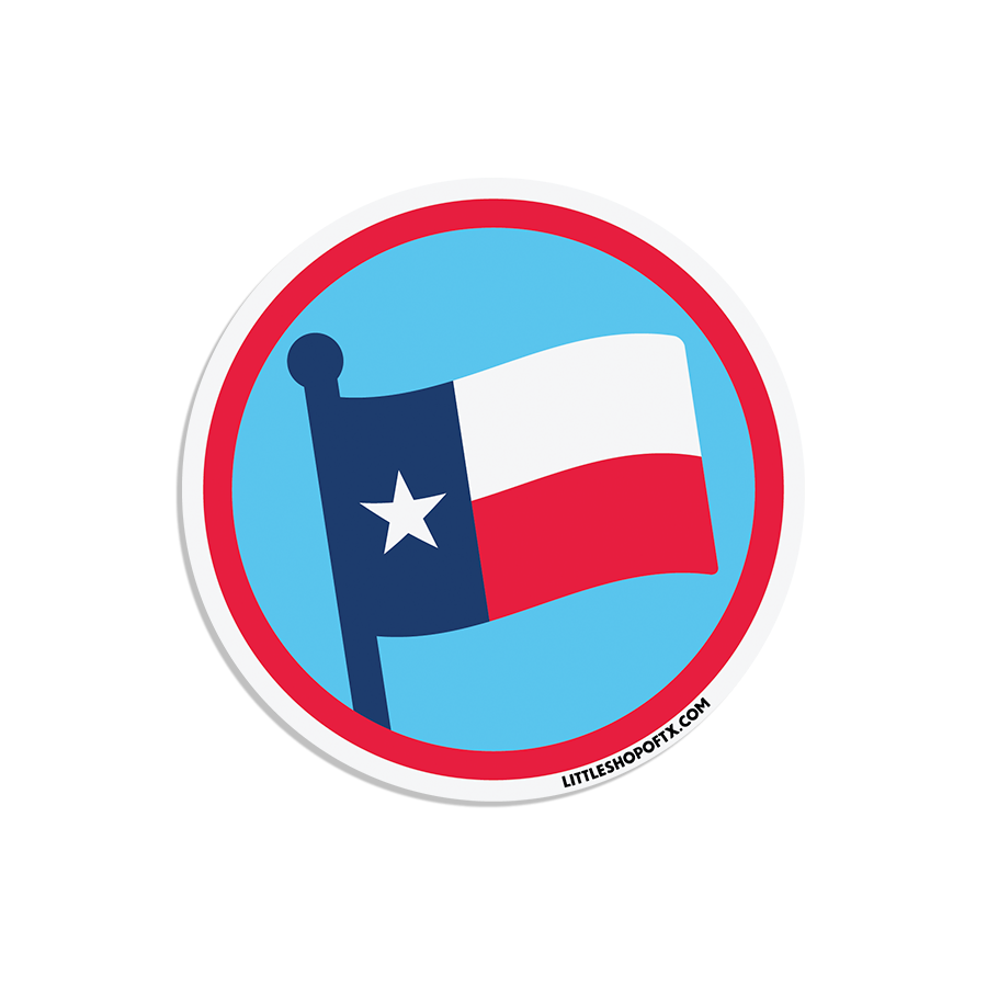 Image of Texas Flag Magnet