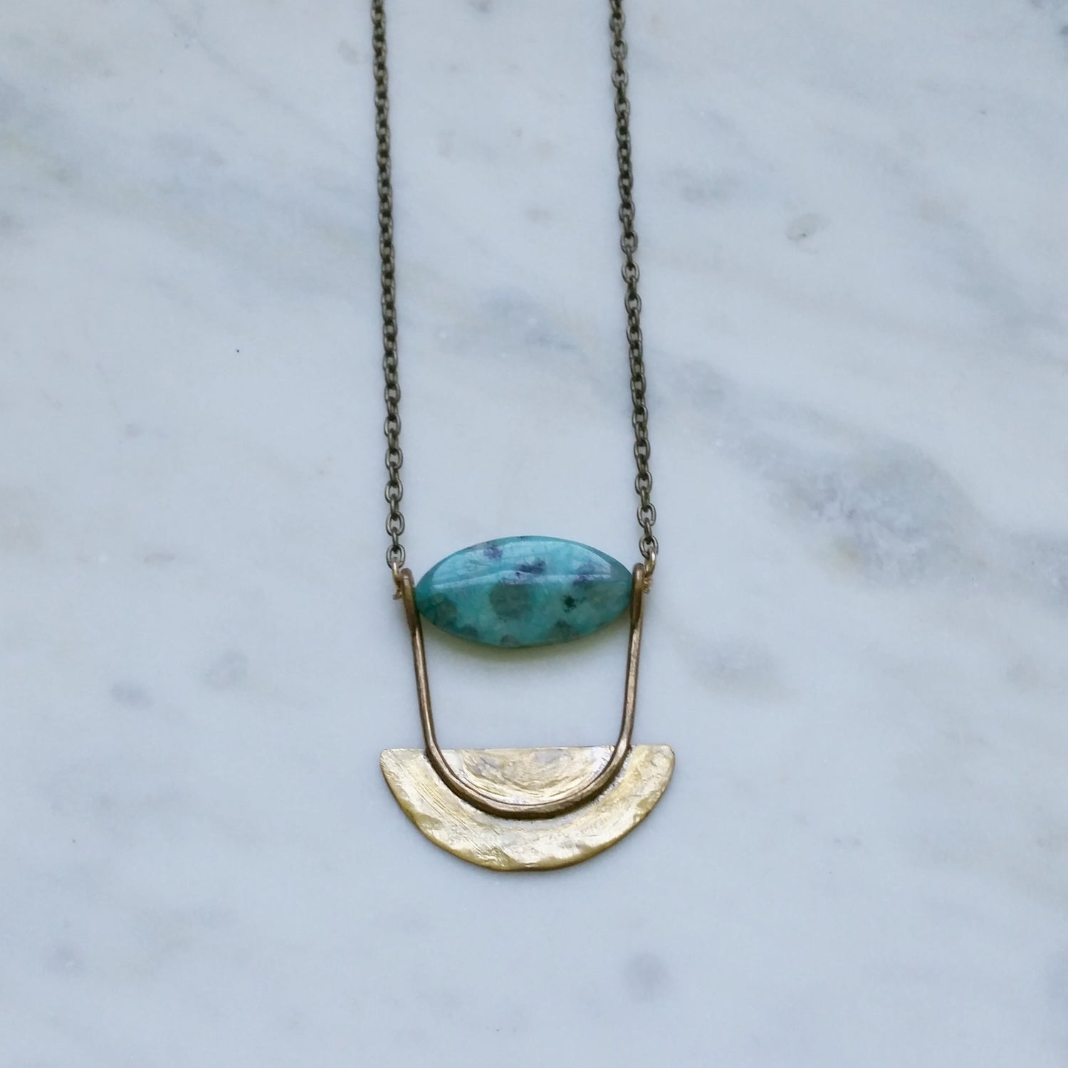 Image of Luna Blade Necklace