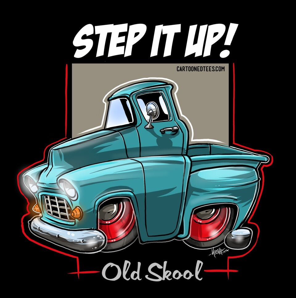 Image of '55 Step it Up Aqua